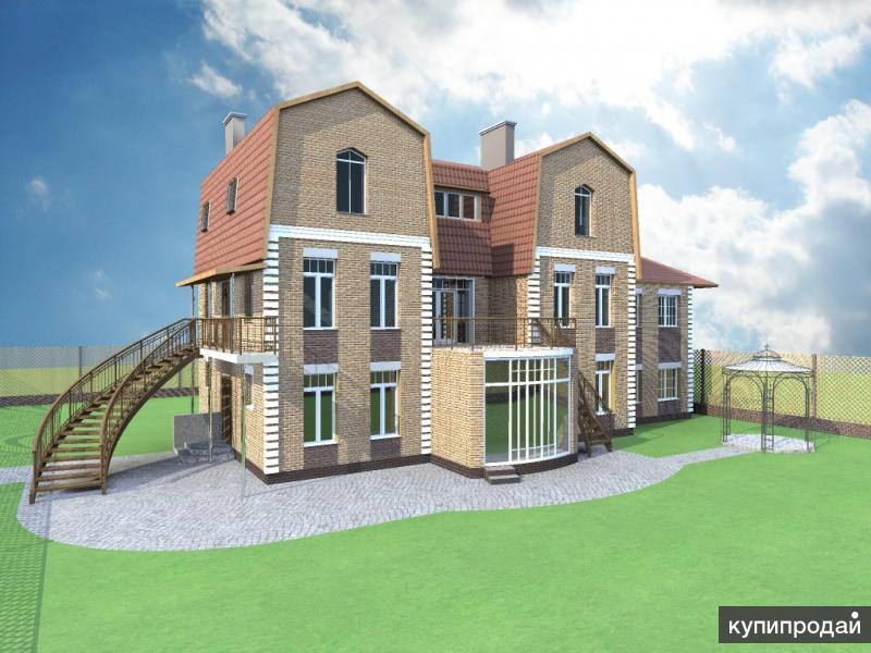 Архитектор, конструктор - проекты коттеджей
