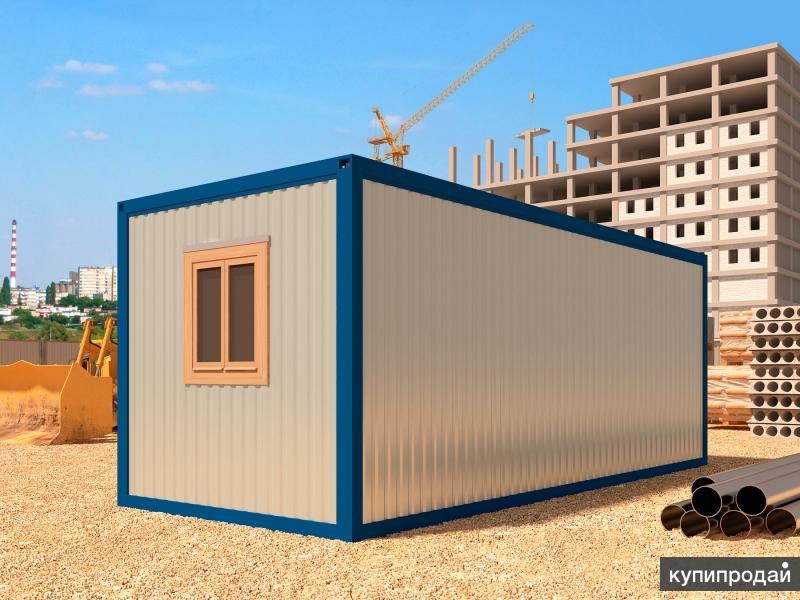 Блок контейнер 6х2,45 с тамбуром