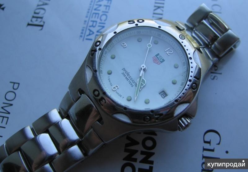 Наручные мужские часы Tag Heuer(Швейцария) Оригинал