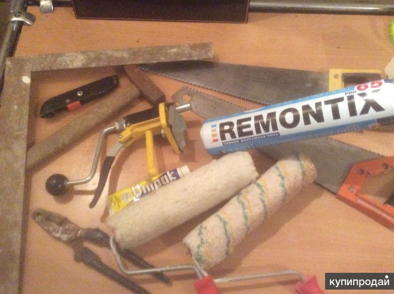 Резак, пилы, валики профессиональные для ремонта, строительства