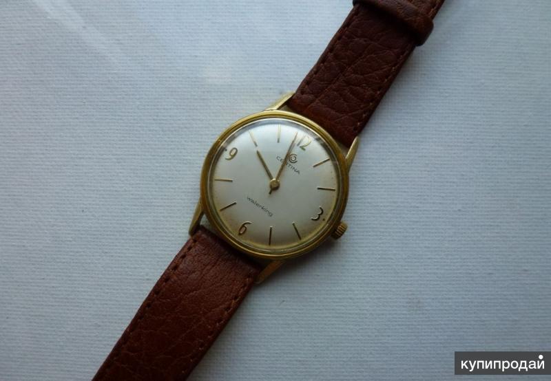 Наручные мужские часы Certina (Швейцария)
