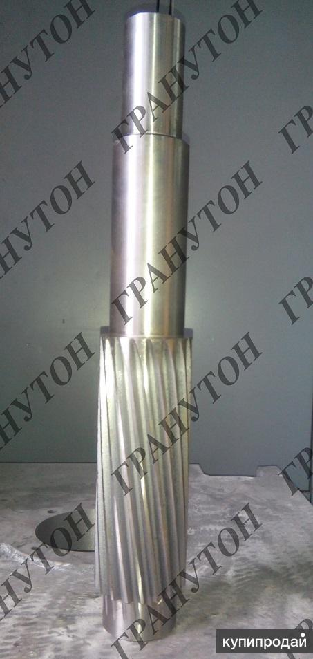 Вал центральный (тихоходный) для гранулятора ОГМ. Запчасти на ОГМ.