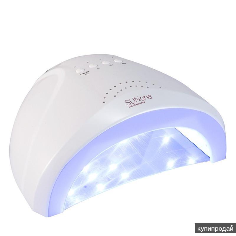SunOne Профессиональный белый свет 48W светодиодные лампы УФ