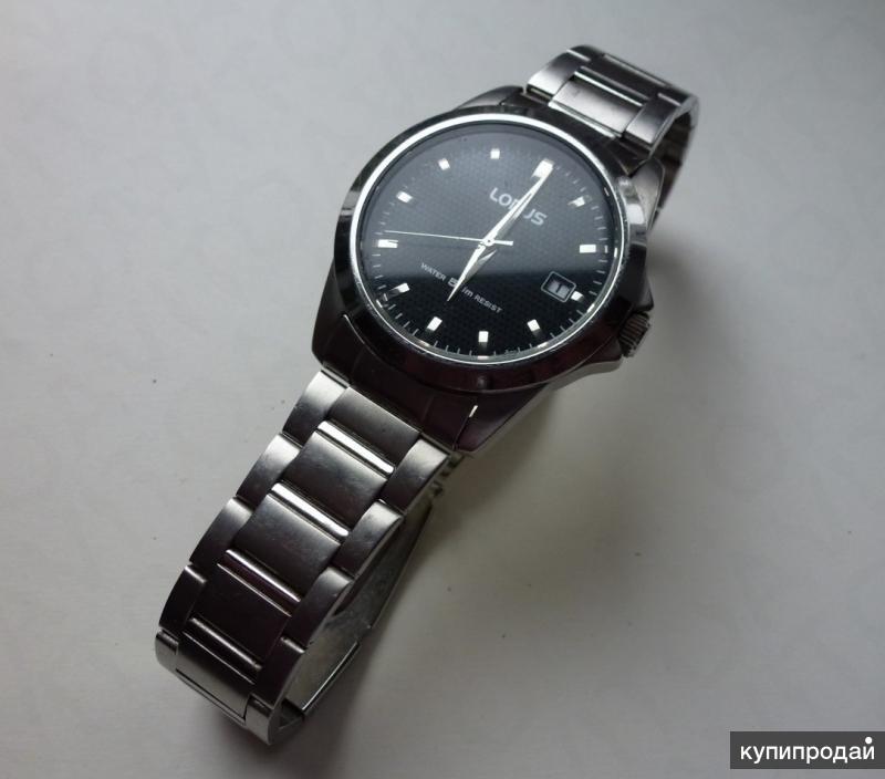 Наручные мужские часы Lorus (Япония)