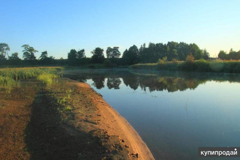 Земельный участок на берегу реки Туношонка