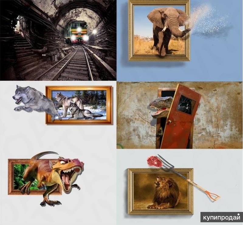 представлен список выставка 3д картин франшиза бренды Самые