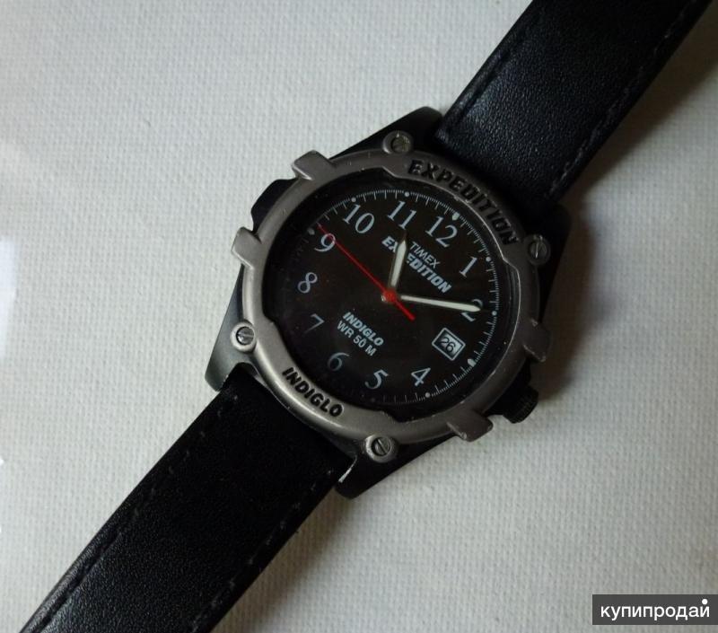 Наручные муж. часы Timex Exspedition Великобритани