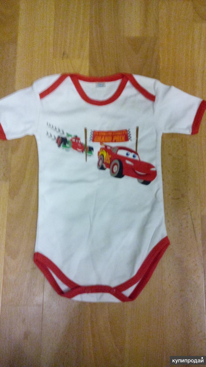 Бодики Тачки для малышей