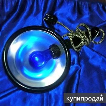 Синяя лампа, состояние новой.