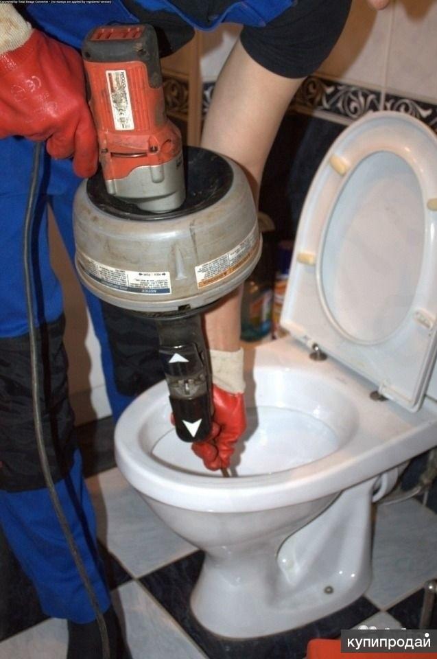 Прочистка канализации. Устранение любых засоров