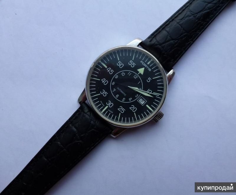 Наручные мужские часы Fortis (Швейцария)