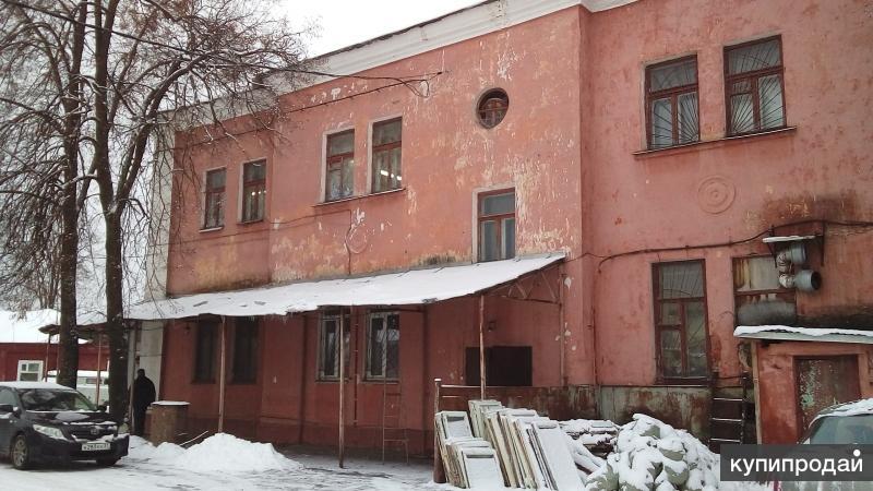 Земельный участок и здание 1600 кв.м.