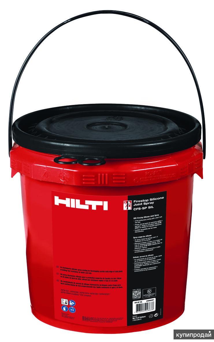 CFS-SP SIL HILTI Противопожарный силиконовый спрей для швов грязно-белый 19 л ар