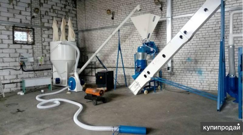 Линия гранулирования Комбикормов 700 кг/ч