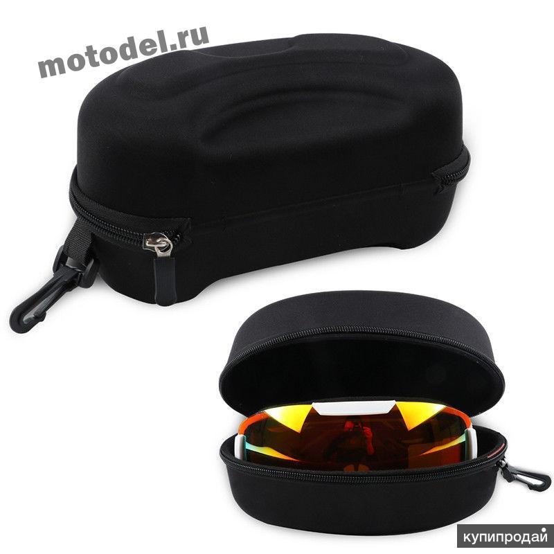 Кейс (сумка, чехол) для очков, маски, жесткий, большой