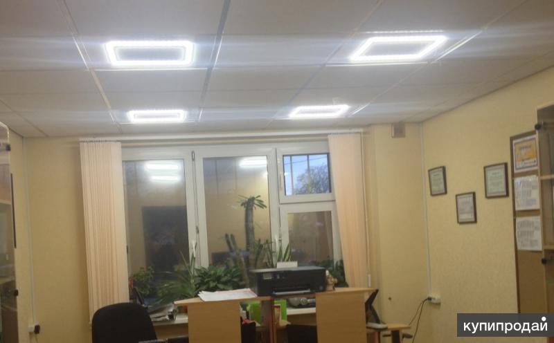 Светодиодные светильники- офисные
