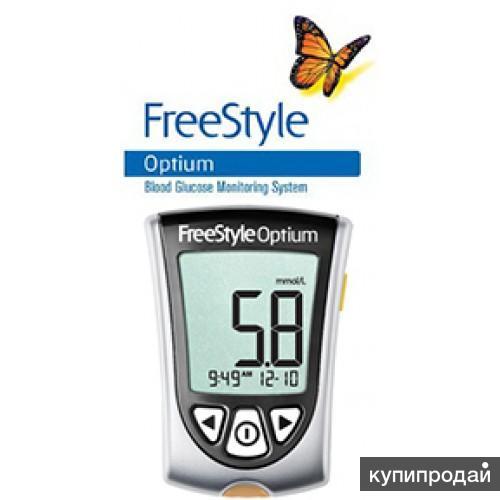 Продаю глюкометр FreeStyle Optium