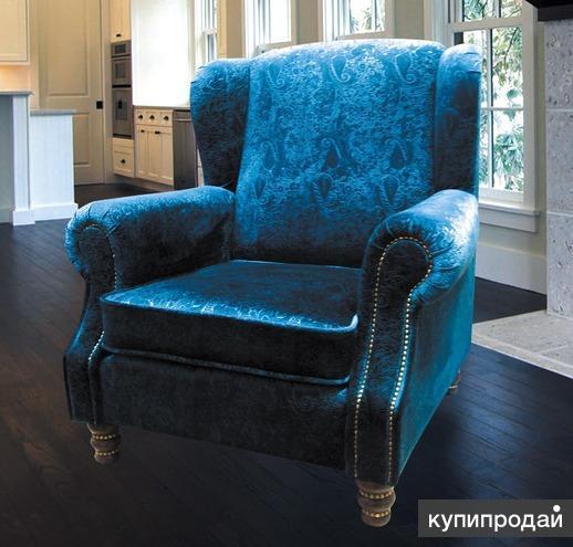 Мягкое кресло для отдыха с высокой спинкой от прозводителя