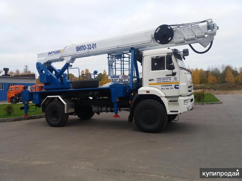 Автогидроподъемник ВИПО-32-01 шасси КАМАЗ-5387 РЕАТ (4x4)