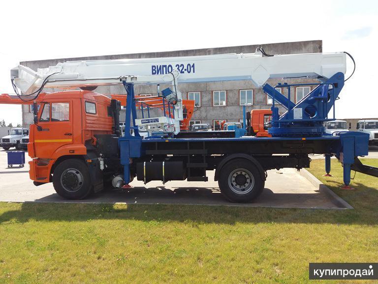 Автогидроподъемник ВИПО-32-01 шасси КАМАЗ-43253 (4x2)