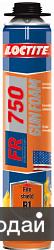 Пена огнестойкая профессиональная LOCTITE FR750 (750 мл)