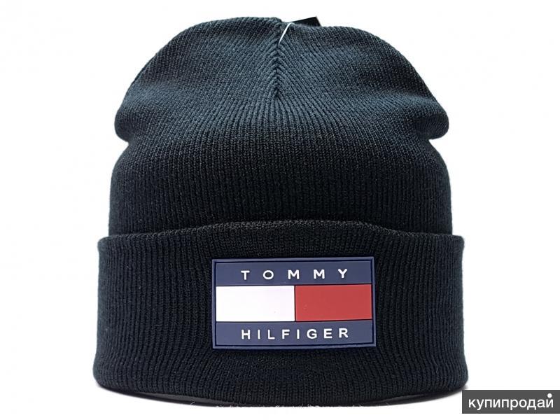 Tommy Hilfiger шапка (black flap)