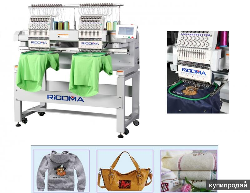 Вышивальная машина двухголовочная Ricoma MT-1202