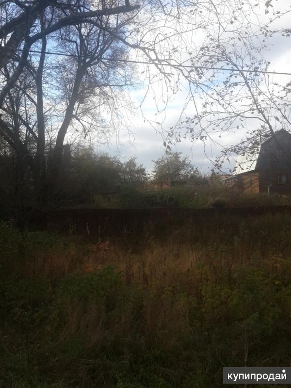 Продается участок 15 соток с частью дома ( под снос)  Чеховский район д. Красные