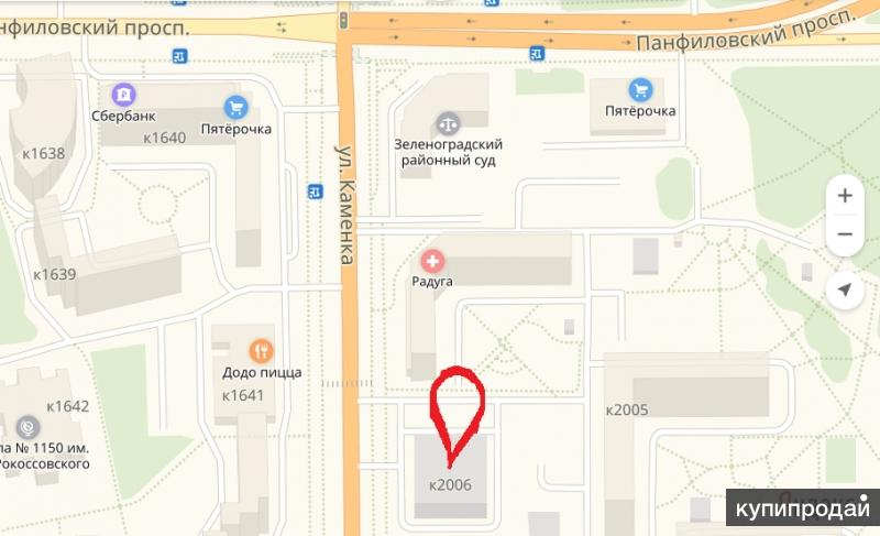 Продается  машино место в Зеленограде