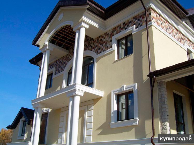 Мокрый фасад в Пензе цена со скидкой от объёма
