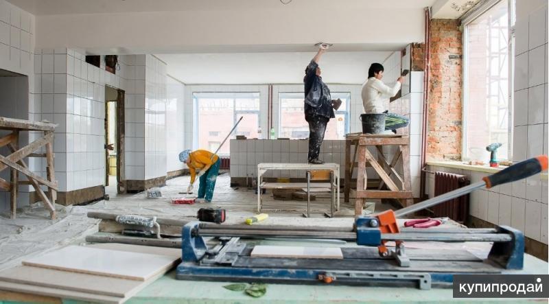ремонт и отделка  образовательных учреждений