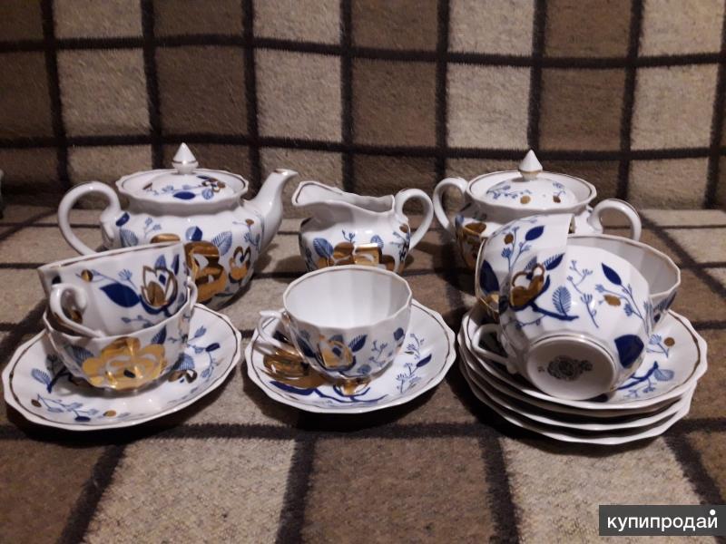 Сервиз Чайный керамический 15 предметов