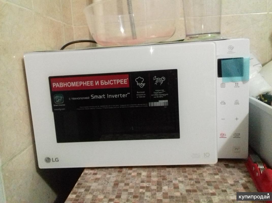 Продам новую микроволновую печь LG MS23M38GIH в упаковке
