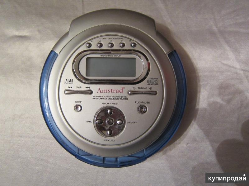 Amstrad CD858 AM/FM stereo radio CD/MP3 плеер