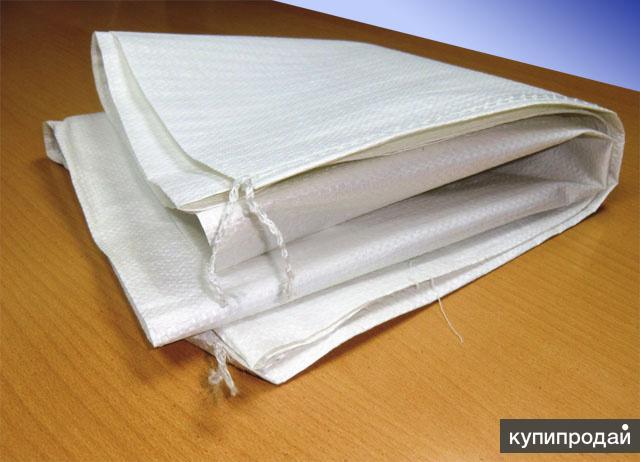 Мешки белые из чистого полипропилена весом 50 кг 5