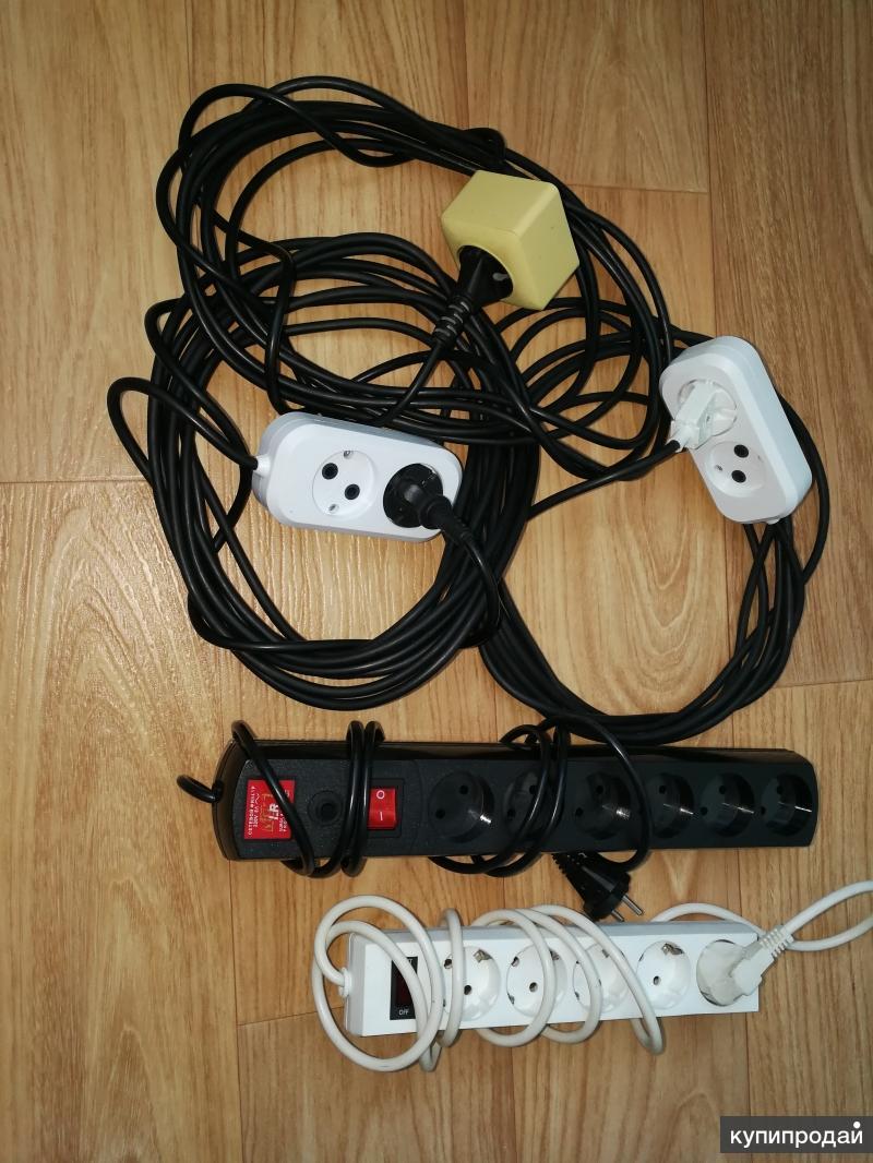 провода удлинительные, кабели