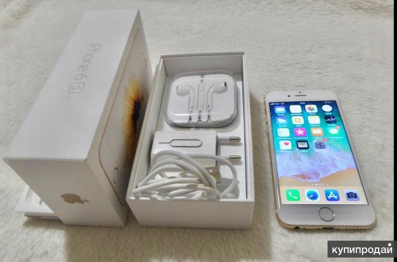 iPhone 6s 64 Gb Gold Идеальный
