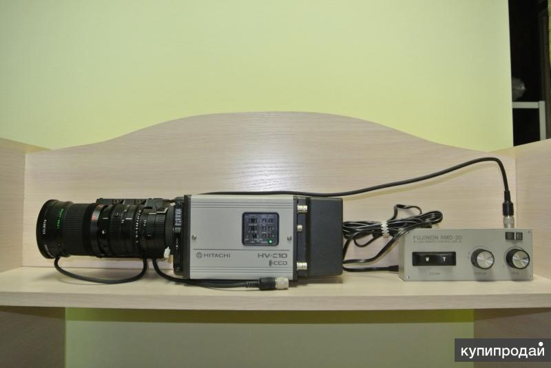 Камера HITACHI HV-C10A + панель FUJINON RMD-20