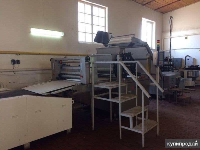 Продается оборудование для цеха по производству сдобного печенья
