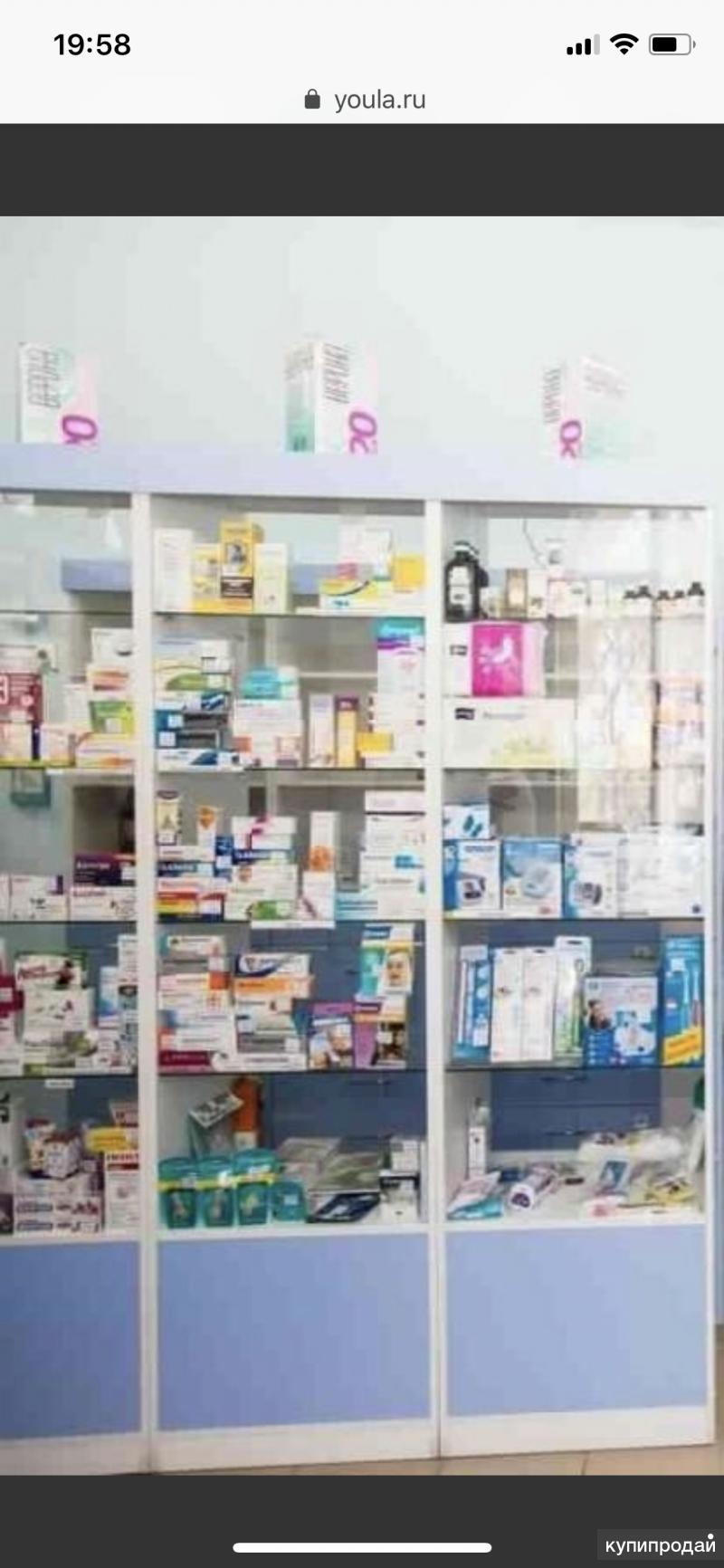 Мебель для аптеки комплект