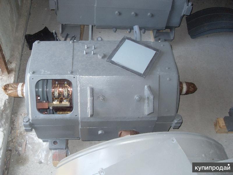 Электродвигатель ДЭ-812 исполнение IM-1004 с двумя концами вала