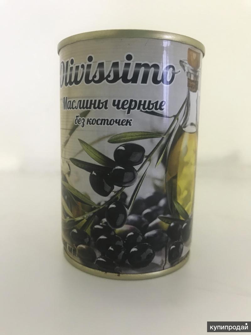 """Маслины без косточки """"Оливиссимо"""""""