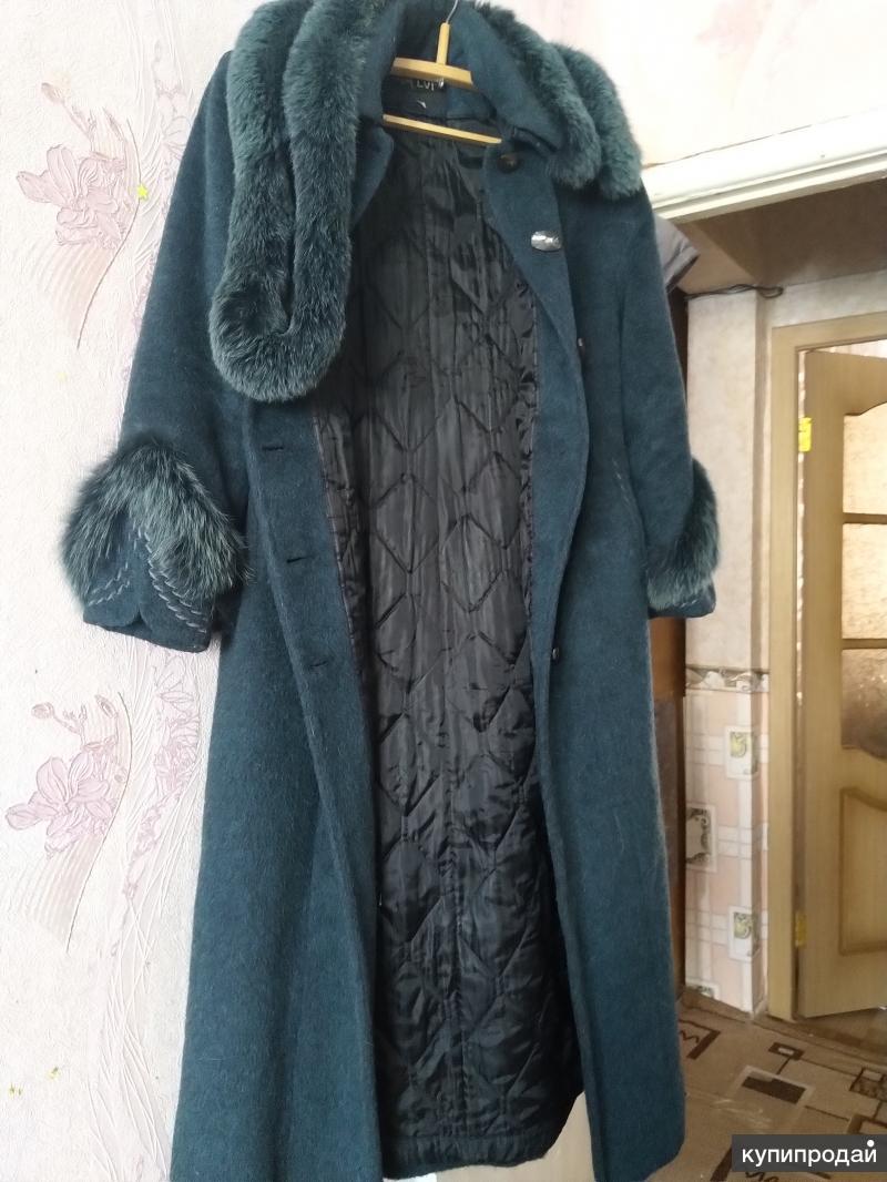 Женское пальто, размер 50, осень-зима