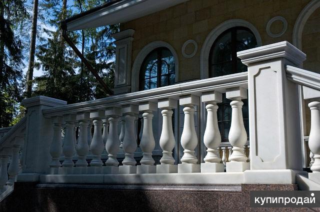 балясины бетонные для балкона и крыльца