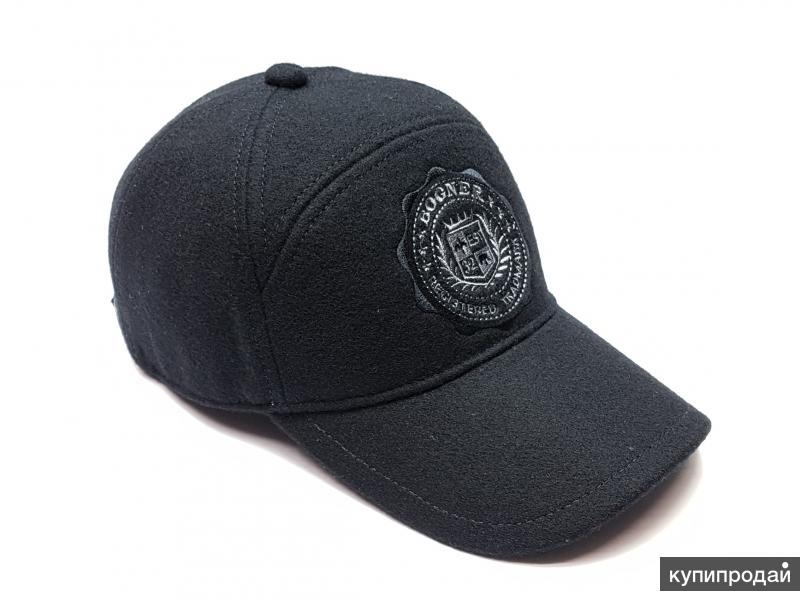 Бейсболка кепка шерстяная Bogner (черный)