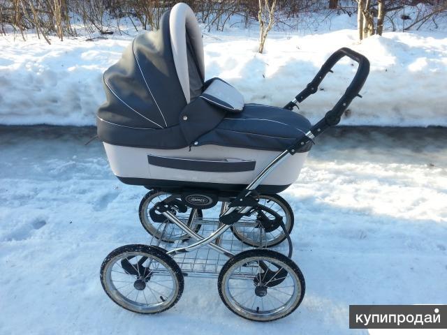 Продаю хорошую коляску под польским брэндом Adamex