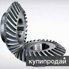 Шестерня и колесо с круговым зубом