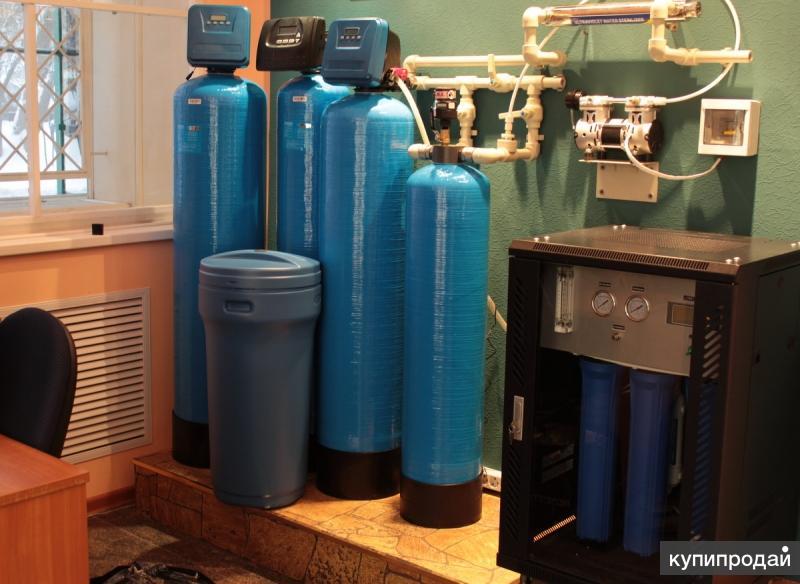 Очистка питьевой воды в домах, коттеджах