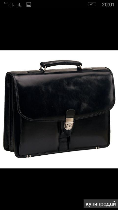 Продаю мужской кожаный портфель
