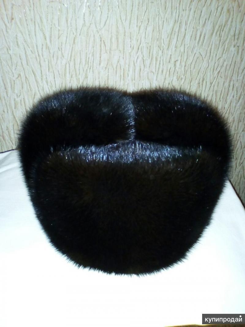 Продаю мужскую норковую шапку